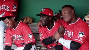 Interview with Muckdogs Centerfielder Milton Smith Jr. - YouTube