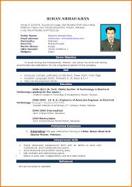 Latest Format For Resume Modern Free Resume Format Download Ms Word Latest Cv Format Cv 5