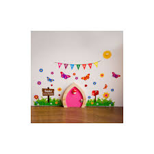 fairy door decorative wall stickers