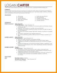 Sample Resume For Sales Associate No Experience Sample Resume Retail