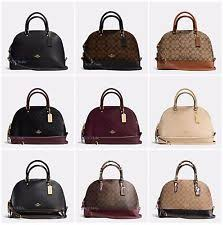 New Coach Sierra Satchel Dome F58287 F37218 F37233 Signature Leather