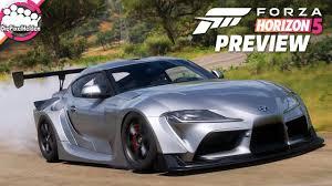 FORZA HORIZON 5 - Ist das ein Supra? 😲 Toyota Supra Mk4 & Mk5 - Forza  Horizon 5 Preview - YouTube