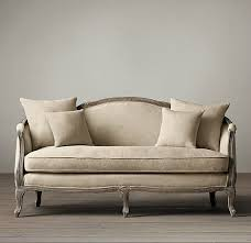 French countryside all solid wood sofa American retro old antique