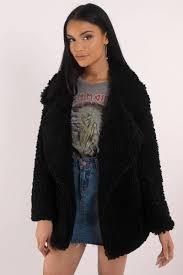 audrey 3 1 killin me softly black faux fur jacket