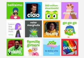 Johnson Banks Design Ltd Duolingo Gets A New Logo And Feathery Custom Typeface