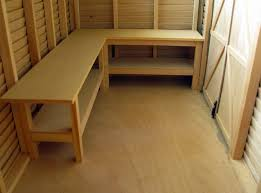 cool garden shed workbenches design