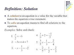 math equation variables how to solve for a variable math how to solve a linear equation