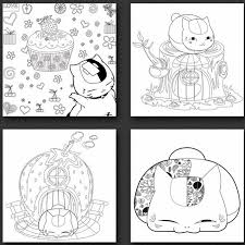 Us 1436 10 Di Scontocarino Kawaii Anime Giapponese Adulto Libro Da Colorare Natsume Libri Da Colorare Per Bambini Adulti Di Disegno Pittura Di