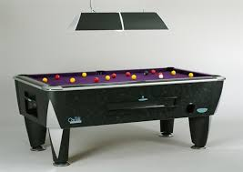 what size pool tables are used in leagues