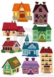 Houses Cartoon House Home Icon House Doodle