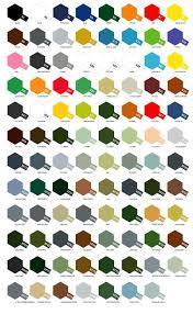 Tamiya X Xf Series 5 Pots Of Acrylic Paint Choose From