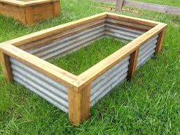 corrugated metal raised garden beds planter boxes for vegetables raised vegetable garden bed planter box recycled