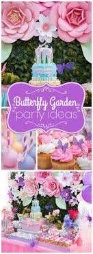 Butterflies and Flowers Birthday Party / Birthday