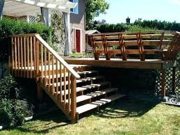 prefab wood steps prefab wood steps outdoor wooden stairs round railing stair outside design home decorations