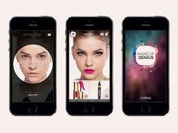 why l oreal s new makeup genius app