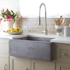 concrete farm sink. Delighful Sink Farmhouse 3018 NativeStone ApronFront Kitchen Sink Inside Concrete Farm Native Trails