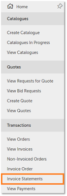 Statement Of Invoices Invoice Statements Unimarket Helpdesk