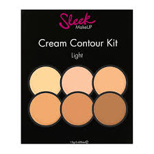 sleek makeup cream contour kit 12g close