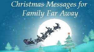 Christmas Blessing Quotes Awesome Christmas Messages For Family Far Away