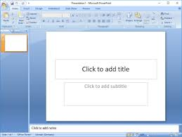 Design For Powerpoint 2007 How To Find The Version Number Of Powerpoint Powerpoint Tips And