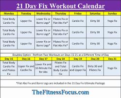 21 Day Fix Tracking Sheet Fresh 21 Day Fix Workout Sheets