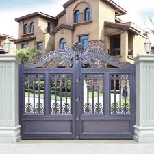 Modern Gate Pillar Design Hs Lh010 Different Colors Entrance Pillar Design Of School Gate Buy Design Of School Gate Different Design Of Gate Colors Driveway Gate Product On
