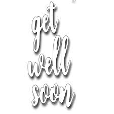 Aliexpress Com Buy Get Well Soon Words Metal Cutting Dies Stencils