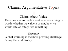 lesson thesis statements claims argumentative