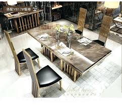 dining room sets for 4 modern marble dining table stainless steel dining room set home furniture minimalist morn marble dining table dining room