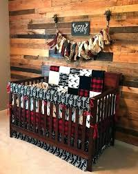 another fabulous custom buffalo check hunting themed crib bedding set lumberjack red and black baby ideas