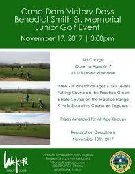 Orme Dam Victory Days Celebration Golf Tournament   Wekopa