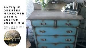 Annie Sloan Chalk Paint Mixing Chart Dresser Makeover With A Custom Colour Mix With Annie Sloan Chalk Paint