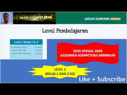 Nah, berikut beberapa contoh soal akm yang diberikan oleh kemendikbud. Latihan Soal Akm Level 1 Untuk Kelas 1 Dan 2 Sd Youtube