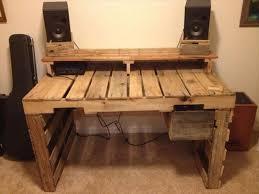 pallet furniture desk. diy pallet desk with drawers furniture