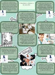 Questions To Ask A Dental Assistant Professionalism Teamwork In Dental Office Assitant