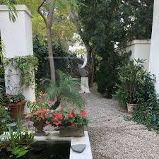 lush landscaping ideas. I Like Little Gardens Everywhere With Water Features And Lush Plants Sculptures Koi. #gardens #landscaping #koi #koipond #fountains #outdoors Landscaping Ideas