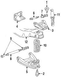 parts com® chevrolet front suspension suspension components susp 1988 chevrolet g20 chevy van v8 6 2 liter diesel suspension components