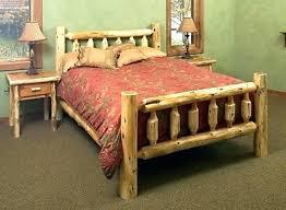 log queen bed frame – Gigilam