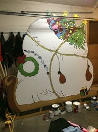 Grinch Plywood Cutout Pattern Cool Decorating Ideas