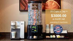 Coffee Day Vending Machine Price Simple K Cup coffee vending machines business Vending Machine Businesses