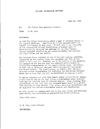 oliver outboard motors cyberspace museum sherry schaefer collection dealer prospecting letter 14