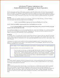 Apa Paper Heading Apa Subheadings 6th Edition Example