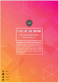 Cover Page For Assignment Free Download Varied Shapes Cover Page Cover Page Template Cover Pages