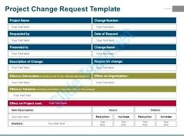 Project Change Order Template Software Change Order Template Request Form Project Name Excel