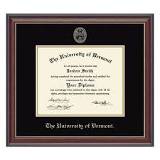 embossed studio diploma frame the uvm bookstore product description