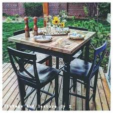 round high top table high top bistro table and chairs chair black pub table and 4