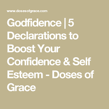 Christian Self Esteem Quotes Best of Godfidence Pinterest Confidence Speak Life And Christian Life