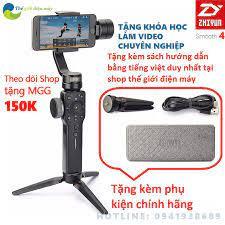 Shop bán Tay cầm chống rung gimbal Zhiyun smooth 4 chống rung cho điện  thoại, camera hành trình nhỏ gọn full phụ kiện bảo hành 12 tháng
