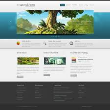 Website Html Templates Beauteous Striking 28D HTML Template 28D Templates Website Templates