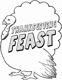 Small Picture Free Thanksgiving Coloring Pages Clipart 1 page of Public Domain